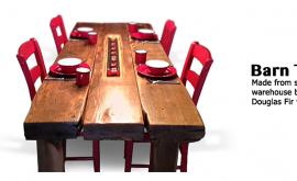 Web barn Table
